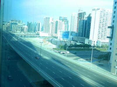 مکتب  للايجار في الخليج التجاري، دبي - Chiller free|Partitioned|2 parking|Vacant