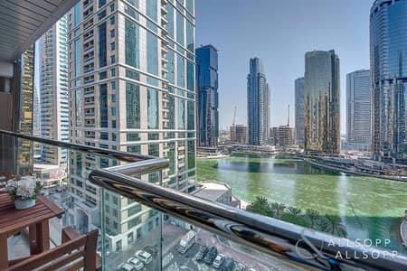 1 Bedroom Flat for Rent in Jumeirah Lake Towers (JLT), Dubai - One Bedroom | Lake Views | Large Balcony