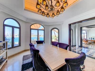 5 Bedroom Villa for Rent in Palm Jumeirah, Dubai - ULTRA LUXURY FURNSIHED VILLA-BEACH ACCESS