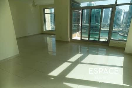 2 Bedroom Apartment for Rent in Dubai Marina, Dubai - Bright - Inspiring Views-Great Facilities