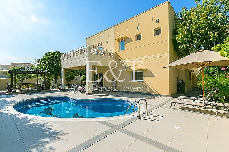 Upgraded|Private Pool|Corner Plot|Available Feb|EH