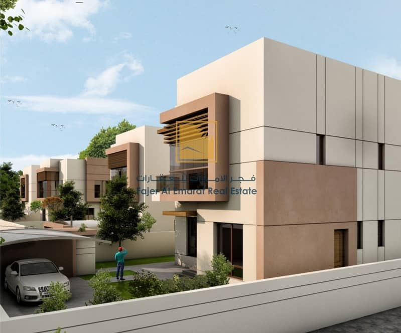 2 Ready delivery villa for sale with down payment 280
