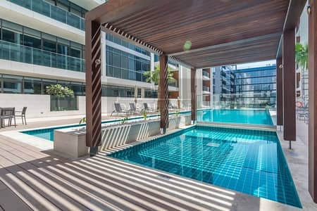 1 Bedroom Apartment for Rent in Jumeirah, Dubai - Largest 1BR with Terrace Facing the Swimming Pool