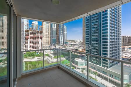 Studio for Rent in Jumeirah Lake Towers (JLT), Dubai - Vacant Studio w/ Lake View