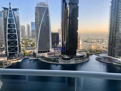Studio for Rent in Jumeirah Lake Towers (JLT), Dubai - Spacious Studio facing lake in lake terrace