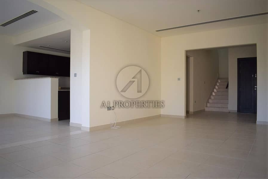 2 Spacious 2BR plus Maid Townhouse with Large Garden