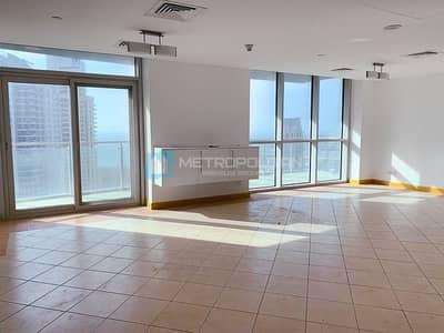 فلیٹ 3 غرف نوم للايجار في دبي مارينا، دبي - Sea and Marina Views | Chiller Free | High Floor