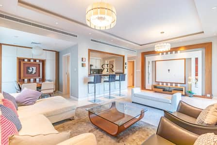 2 Bedroom Flat for Rent in The Greens, Dubai - Furnished 2 Bedrooms plus Maids and with Balcony