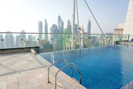 1 Bedroom Apartment for Sale in Jumeirah Lake Towers (JLT), Dubai - Semi Furnished | Spacious 1 BR | Lake View | JLT