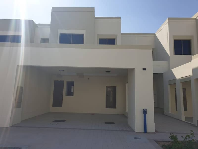 3 bedroom +maids room Type 1 Brand new Green belt Naseem Town house