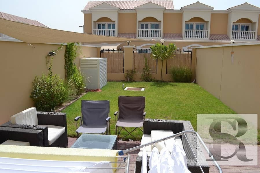 2 1 BR TOWNHOUSE WITH PRIVATE GARDEN | RENTED AND CONVERTED TO 2 BR