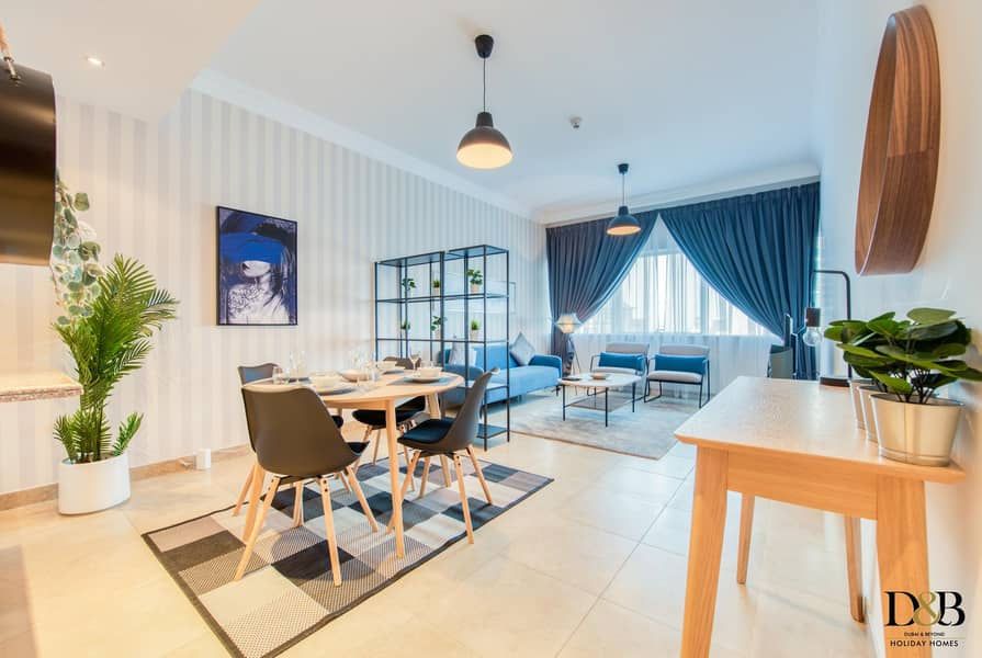 2 Newly furnished One Bedroom flat in Marina