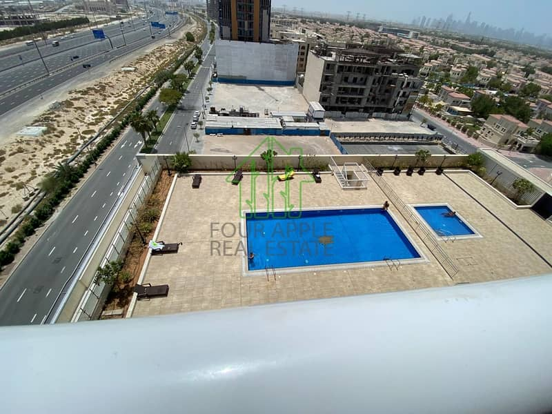 13 FULLY FURNISHED 1 BHK IN MANARA TOWER 38000AED