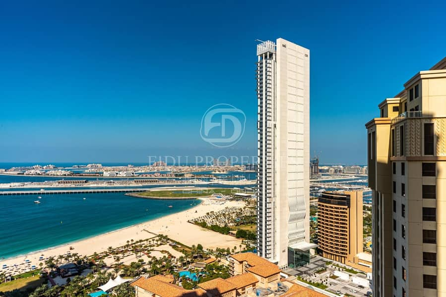 Full Sea and Palm View and Fully Furnished