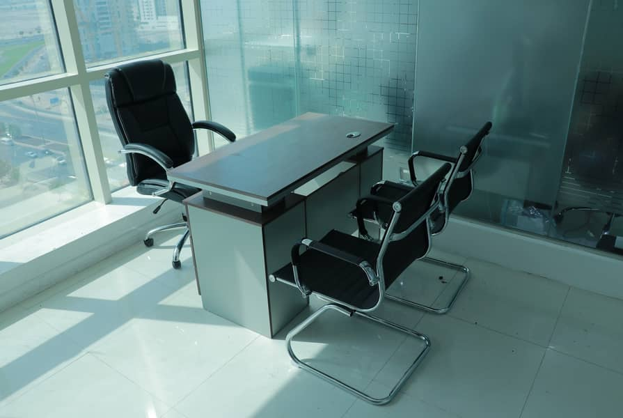 Separate Office Near Metro / 4 Cheque Payment / No Commission / Free DEWA and Free Internet