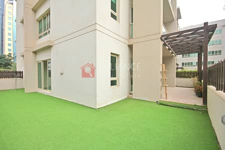 2 Bedroom Flat for Sale in The Greens, Dubai - Rented | 2 bed + Study |  Private Garden | 2.5 Bath