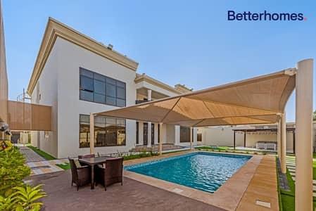 فیلا 7 غرف نوم للبيع في ند الحمر، دبي - 7 Beds |On  Two roads | Classic Design | Corner