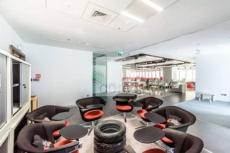 طابق تجاري  للايجار في دبي مارينا، دبي - Fitted and Furnished Office | Low Floor