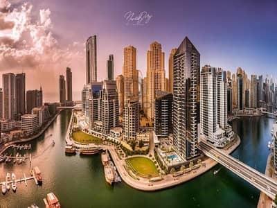 فلیٹ 1 غرفة نوم للبيع في دبي مارينا، دبي - Pay 40% and get the key remaing 60% in 4 Years