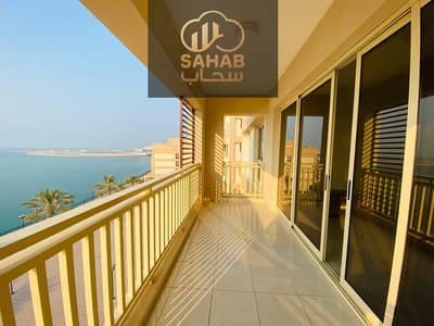 Wonderful apartment with direct sea view .