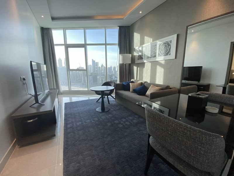 23 Full Canal Views | Furnished 1 Bed | High Floor
