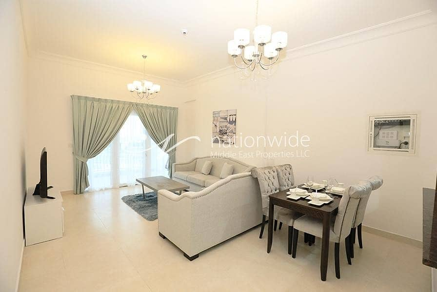 2 A Convenient Apartment with Huge Balcony