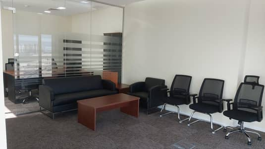 Office for Rent in Al Reem Island, Abu Dhabi - Fully furnished corner office ideal for downsizing