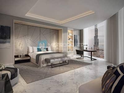 2 Bedroom Flat for Sale in Downtown Dubai, Dubai - Amazing full fountain and Burj view unit below OP