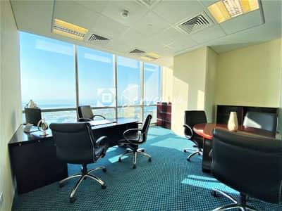 Office for Rent in Corniche Road, Abu Dhabi - Fully fitted premium Serviced Offices in Etihad Towers