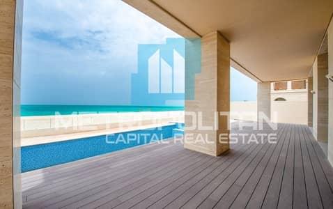 7 Bedroom Villa for Sale in Saadiyat Island, Abu Dhabi - Affordable Price  Full Sea View Upgraded Type 3C