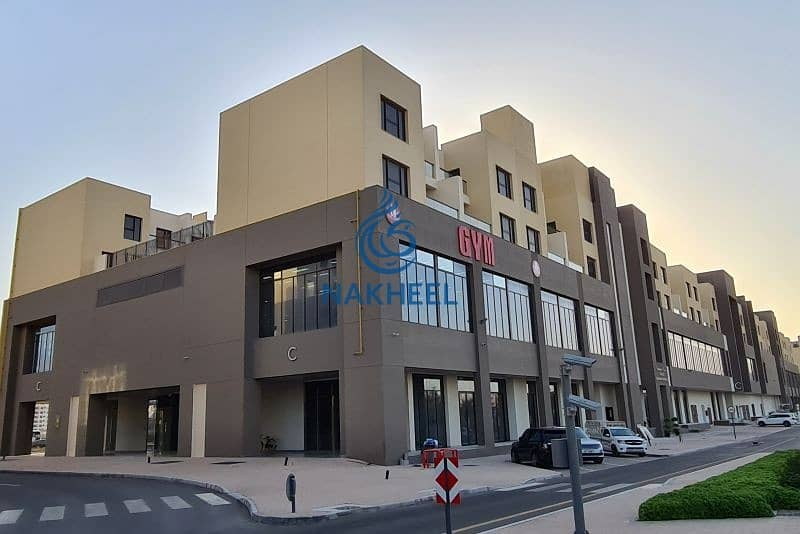 F & B commercial Space  direct from Nakheel - 1104 sqft