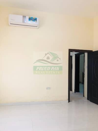 شقة 1 غرفة نوم للايجار في بني ياس، أبوظبي - Monthly Big 1BHK with 2 Washrooms by Walk to LuLu at Baniyas East