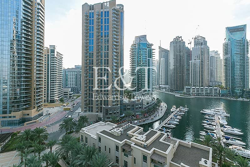 Beautiful Marina View on Middle Floor | Tenanted