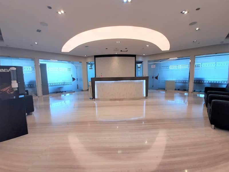 DIRECT FROM LANDLORD I FULLY FURNISHED OFFICES I 2 PERSON SHARING | DAMAC EXECUTIVE HEIGHTS | TECOM