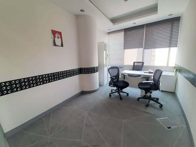 2 BEST DEAL |SERVICED OFFICES | FOR RENT | NO COMMISSION | BARSHA HEIGHTS