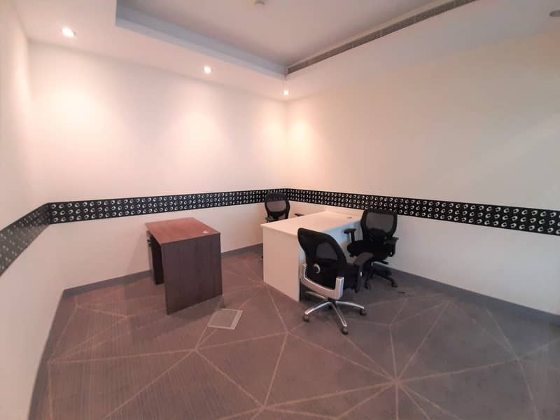 2 DIRECT FROM LANDLORD I FULLY FURNISHED OFFICES I 2 PERSON SHARING | DAMAC EXECUTIVE HEIGHTS | TECOM