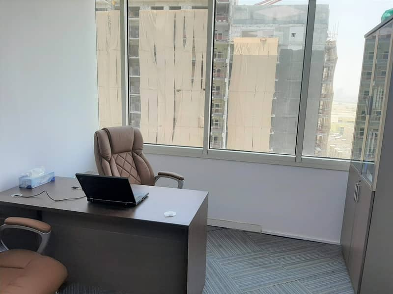 9 DIRECT FROM LANDLORD I FULLY FURNISHED OFFICES I 2 PERSON SHARING | DAMAC EXECUTIVE HEIGHTS | TECOM