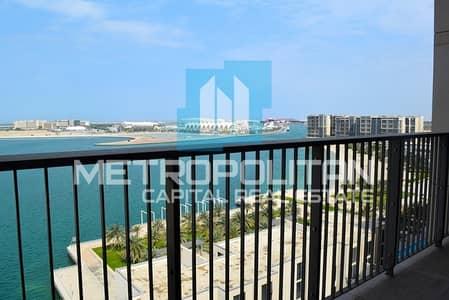 3 Bedroom Apartment for Sale in Al Raha Beach, Abu Dhabi - Full Sea View  Dream Home In Harmonious Community