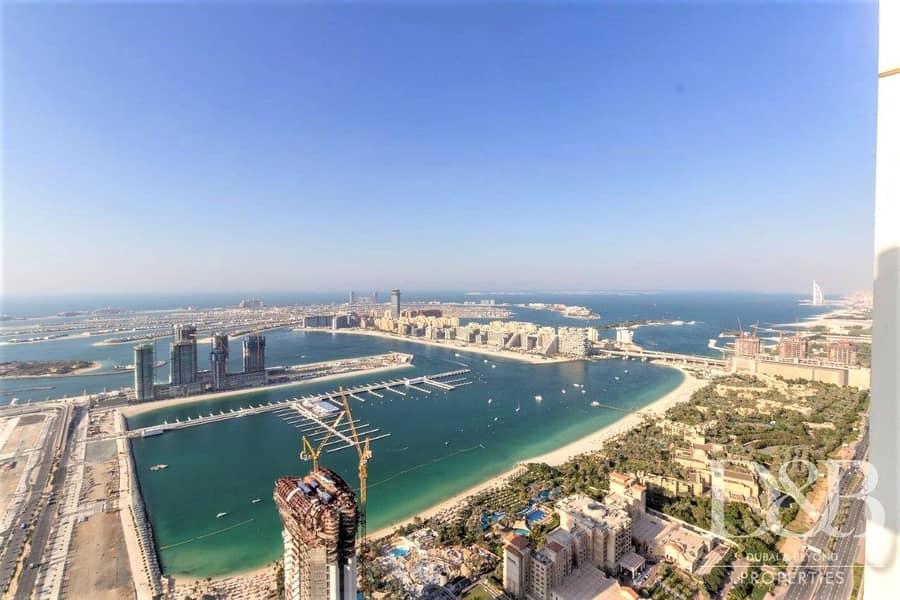 2 Palm & Dubai Eye View | High Floor | Vacant