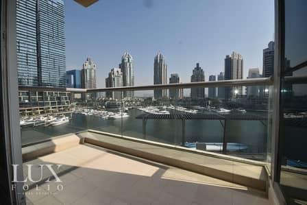 2 Bedroom Flat for Rent in Dubai Marina, Dubai - Full Marina View | Large Balcony | View Today