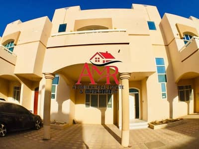3 Bedroom Villa for Rent in Asharej, Al Ain - 13 Months Contract (One Month Free) | Back Yard | Balcony