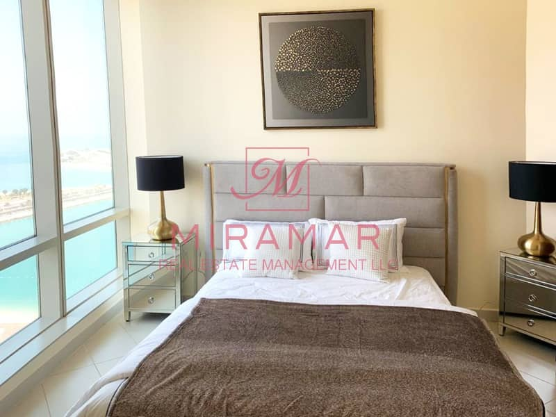 2 FULLY FURNISHED!!! FULL SEA VIEW!! LUXURY LARGE UNIT!