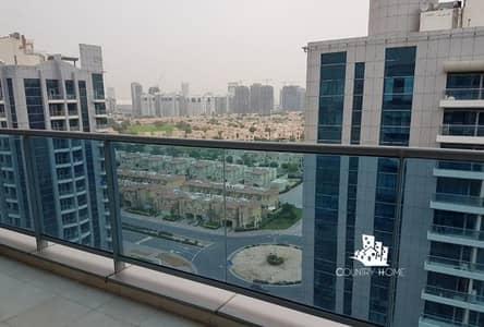 شقة 1 غرفة نوم للايجار في مدينة دبي الرياضية، دبي - Nicely Furnished | 1 BR | Golf Course View