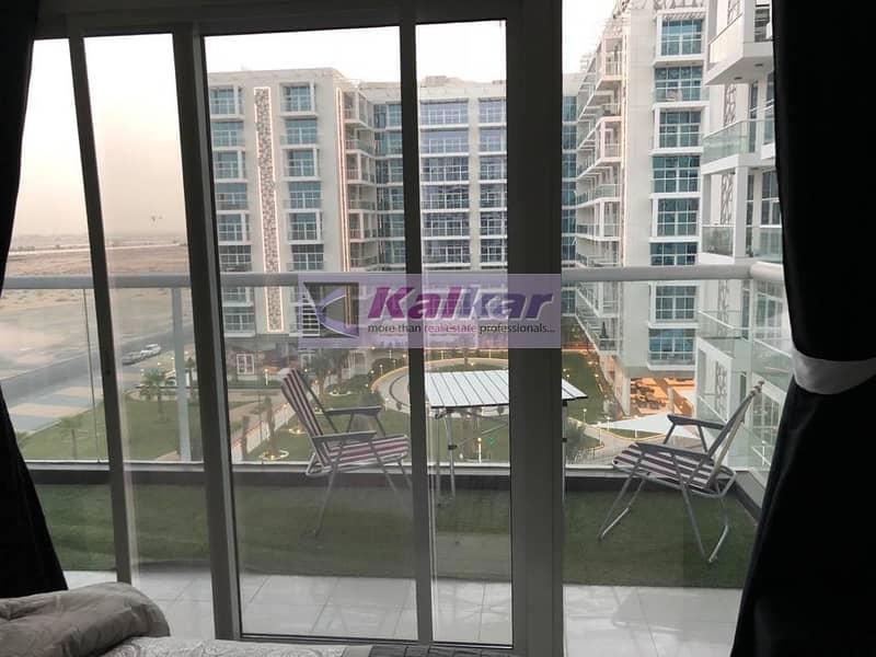 2 Glitz 3 - Dubai Studio City 1 B/R for  rent  with community view - AED.  40 K