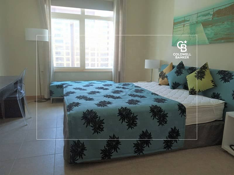 11 1Beds Sea View and Beach Access Shoreline Apt Palm