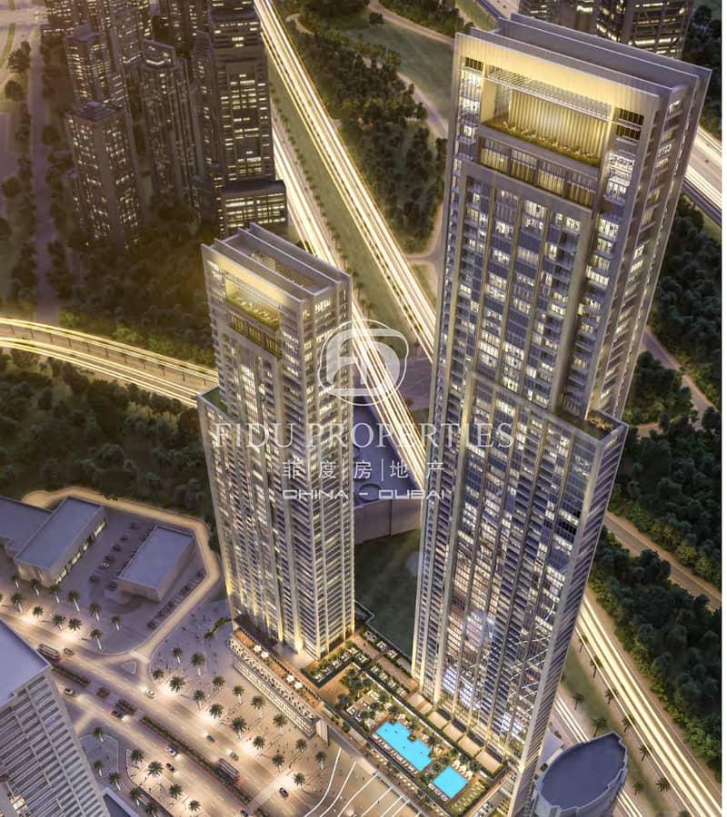 Partial Burj Khalifa View | Mid Floor | Brand New