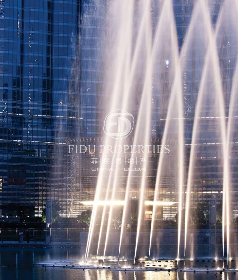 2 Partial Burj Khalifa View | Mid Floor | Brand New