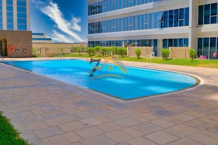 Spacious Large 1 Bhk With Balcony Pool View For Sale In Skycourts Tower