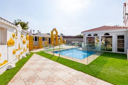 8 Bedroom Villa for Rent in The Villa, Dubai - Marbella Corner 8BR Pool Massive Plot Upgraded