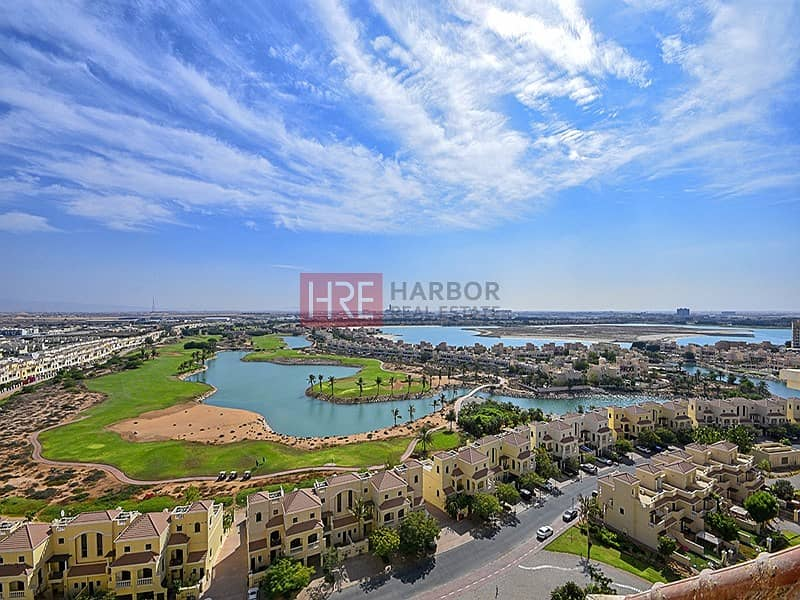1 BR |  Open Kitchen | Large Balcony | Golf View